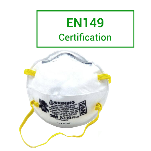 European Standard EN149 Respiratory Mask Requirements