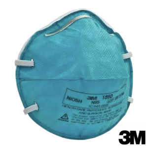 3M Health Care Particulate Respirator  & Surgical Mask, 1860, N95
